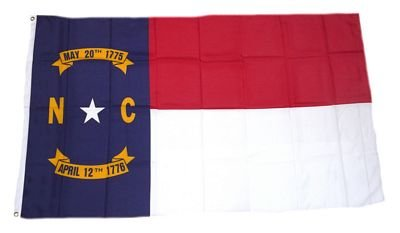 Fahne / Flagge USA North Carolina NEU 90 x 150 cm