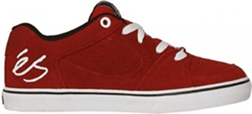 ES Skateboard Schuhe Square One Youth Red/White/Black, Schuhgrösse:30