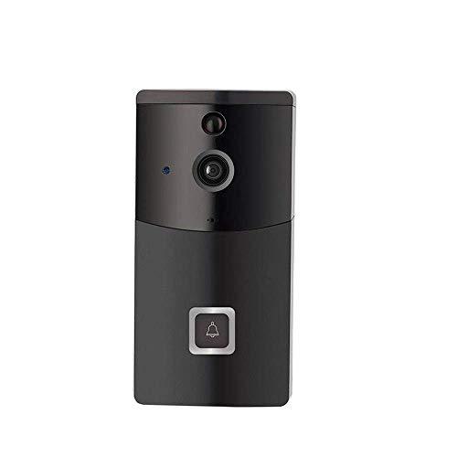YWSZJ Video Timbre inalámbrico Timbre inalámbrico Cámara Impermeable HD WiFi Cámara de Seguridad Video en Tiempo Real for y teléfono