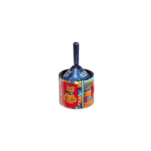 Yair Emanuel Hanukkah Dreidel and Box with Toys Design