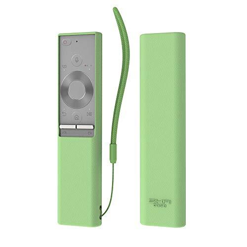 Carcasa de Silicona Antideslizante para Mando a Distancia Samsung BN59-01265A (Luminoso Verde)