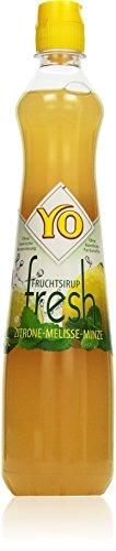 Yo Sirup Fresh Zitrone-Melisse-Minze, PET (1 x 700 ml)