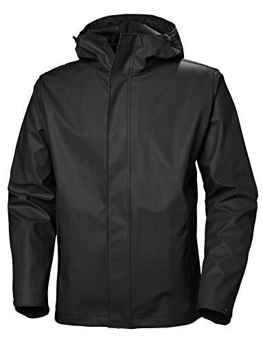 Helly-Hansen 53267 Men's Moss Jacket, Black - Medium