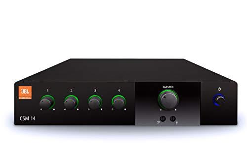 JBL Professional CSM-14 Commercial Series 4-input, 1-output Audio Mixer, (CSM14)