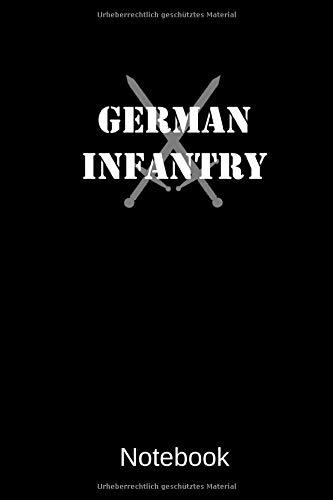 German Infantry: A5 Blanko, 120 Seiten Notizbuch für Freunde und Familie Geschenk zum Geburtstag, Weihnachten oder sonstigen Gelegenheiten