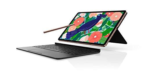 Samsung EF-DT870BBSGES - Funda con teclado TAB S7, Negro