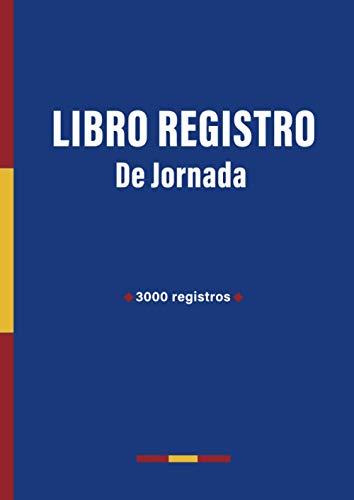 Libro Registro de jornada: Mes Por Página   Horario de Trabajadores   Formato A4
