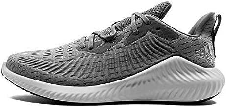 adidas Mens Alphabounce+ U Fitness Performance Running Shoes Gray 11 Medium (D)