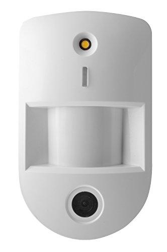 Lupus Electronics 12073 LUPUSEC PIR Netzwerkkamera V3, Bewegungsmelder mit eingebauter VGA Kamera für die Lupus Smarthome Alarmanlagen, Weiß, 120 x 72 x 52, 1