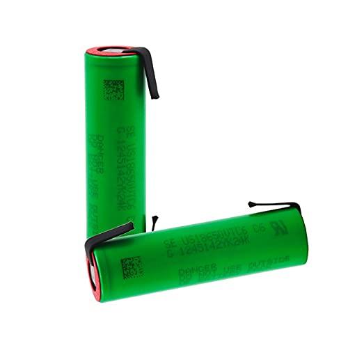 3.7 V 3000 mAh 18650 batteria us18650 per Sony VTC6 30A giocattoli strumenti torcia batteria + fai da te nichel pezzo 4PCSBattery