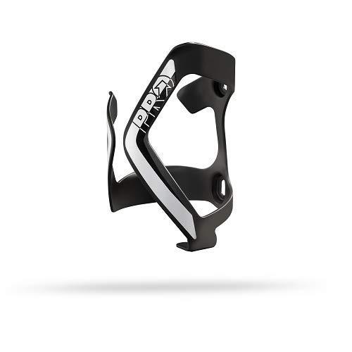 PRO zijstandaard aluminium IZQ zwart/wit reservedrager voor fietsendrager, voor volwassenen, unisex, grijs (grijs), eenheidsmaat