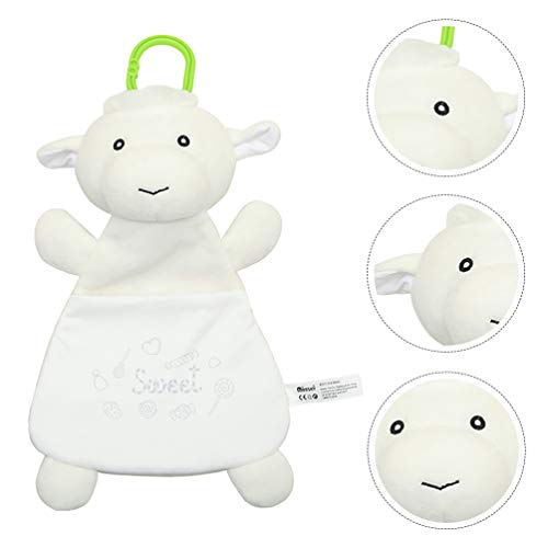Tomaibaby Babydecke mit Tier Neugeborenen Decke Wickeltuch Baby Sicherheitsdecke Windeldecke für Kleinkinder Kleinkinder