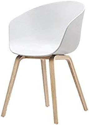 LC-Sillas Silla de Estudio Moderna Simple (Color : A ...