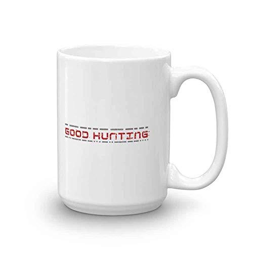 Taza blanca de la buena caza de Battlestar Gala-ctica - 11 oz. - Taza de café oficial
