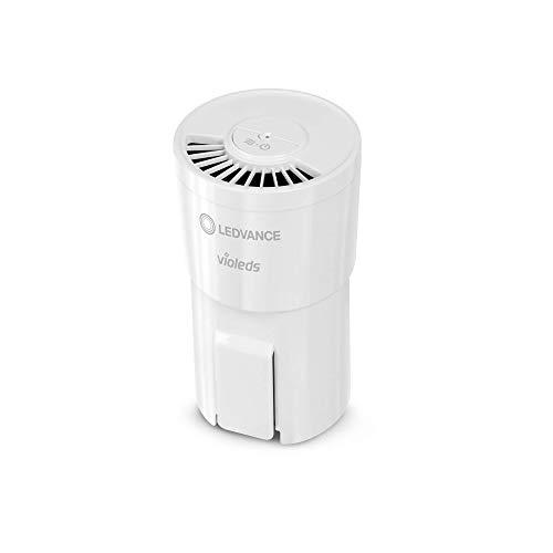 LEDVANCE UVC HEPA Air Purifier, Luftreiniger mit voller UV-C Power zur Desinfektion der Luft von Viren und Bakterien und für ein angenehmes Raumklima, mobil und überall verwendbar über USB-Kabel