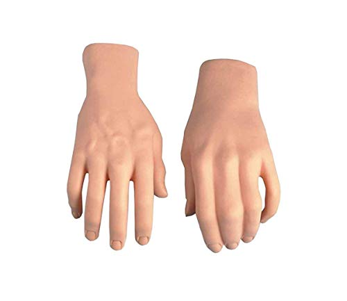 Forum Novelties Men's Prop Stage Hands, Nude, One Size