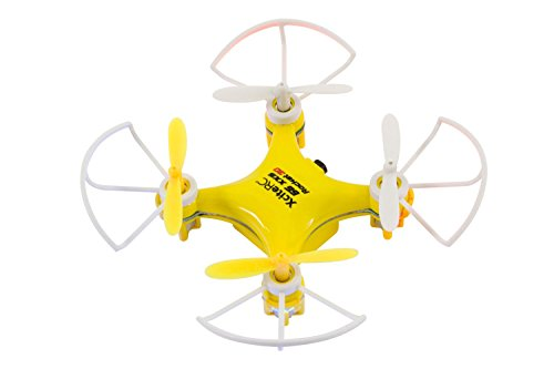XciteRC 15007300 - Ferngesteuerter RC Quadrocopter Rocket 55XXS 3D 4-Kanal RTF Drohne, gelb