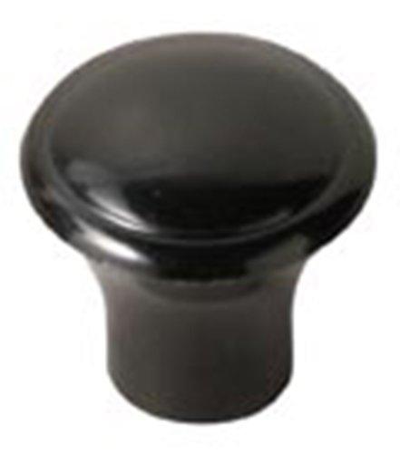 Davies Thermoset Push/Pull Knob, Smooth Rim, Threaded Hole, #10-32 Thread Size X 3/8