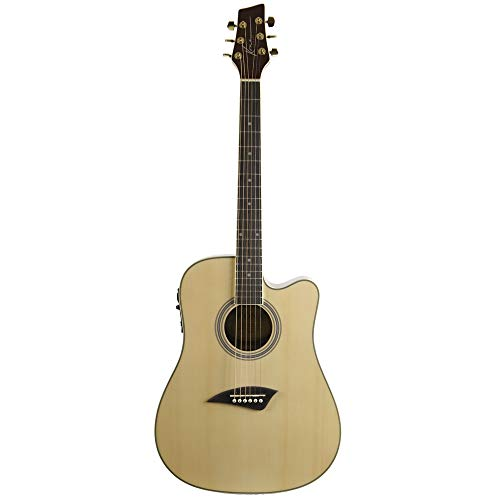 Kona K2 Acoustic Electric Dreadnought Cutaway Guitar in...