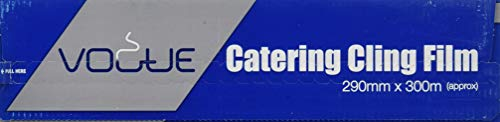 Nextday Catering CF350 Vogue pellicola Cutter con scatola, 290 mm x 300 m