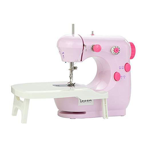 Máquina De Coser Portátil HML Handy Stitch,nuevo Manual De La Máquina De Coser Doméstica,máquina De Coser(rosa)