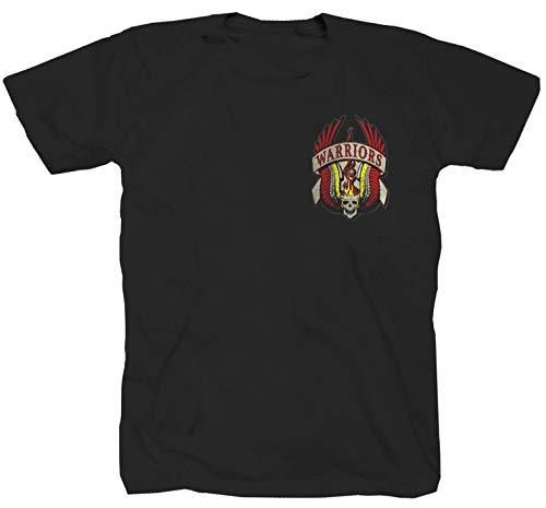 Warriors Kult Retro Film Gang New York Oldschool USA Gangs - Camiseta, color negro Negro XL