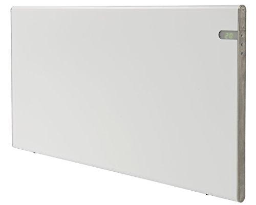 Radiador eléctrico blanco moderno Energía eficiente 800W Clase II Aislamiento reforzado IP24...