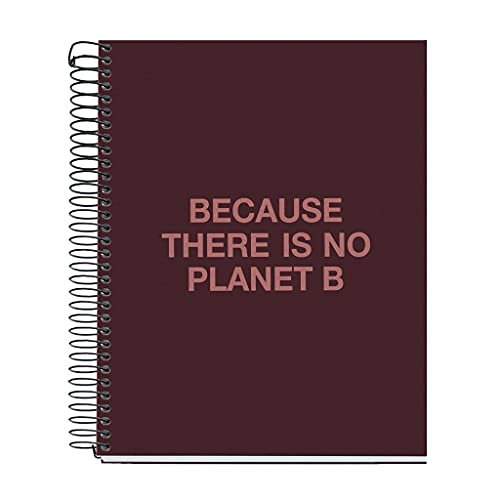 ECOALF powered by MIQUELRIUS - Cuaderno reciclado A5 cuadrícula 120 hojas - Burdeos