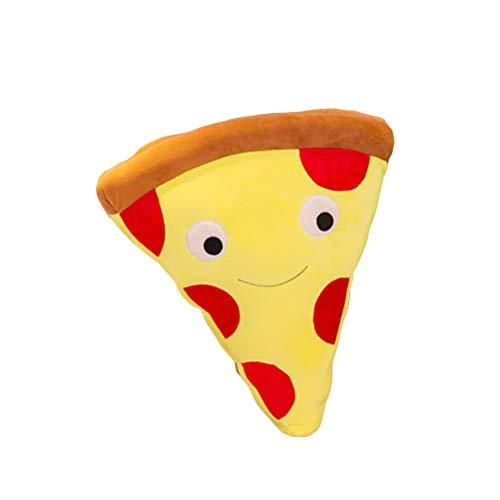 Bonbela Fries de Dibujos Animados Simulación Pizza Cojín Almohadilla de la Felpa de Peluche de Juguete muñeca niños Casa Comprar Restaurante decoración Regalo de cumpleaños Juguetes de Peluche