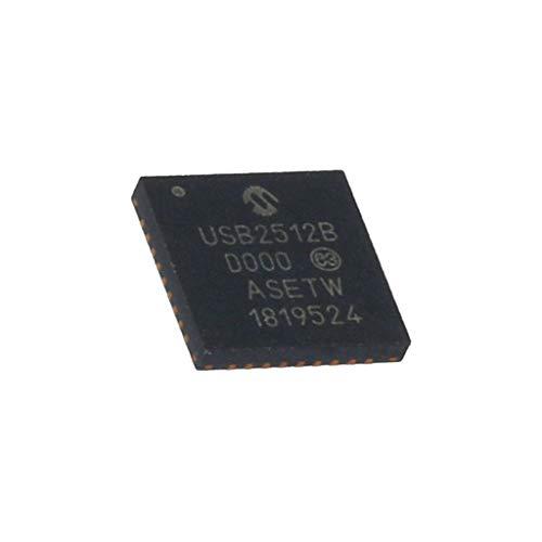 USB2512B/M2 IC: HUB controller I2C,SMBus,USB 2.0 Hi-Speed QFN36 1.5A MICROCHIP T