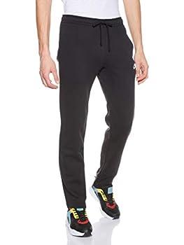 Nike Men s Sportswear Open Hem Club Pants Black/White X-Large
