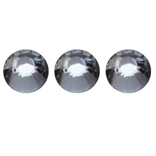 30 g 4 mm de lentejuelas de cristal de diamantes de imitación de acrílico piedra preciosa de la parte trasera plana para manualidades de bricolaje ropa de costura álbum de recortes piezas