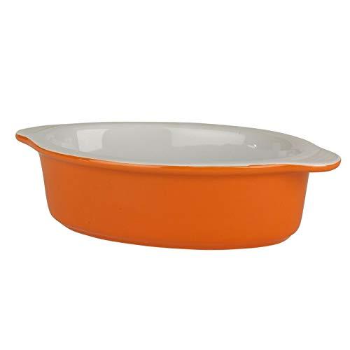Berndes 1503902 Steingutauflaufform, 20cm, orange