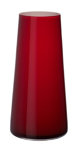 Villeroy & Boch Numa Große Vase Deep Cherry, 34 cm, Glas, Rot