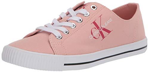 Calvin Klein Tenis de moda para mujer., rosa (Light Peony), 39.5 EU