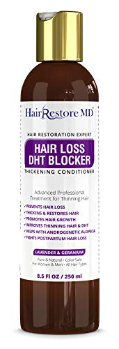 HAIR LOSS DHT BLOCKER Thickening CONDITIONER Lavender