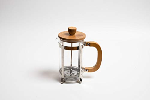 Coffee Culture Bamboo Size: 1000Ml French Press/Plunger, Brown, PLNG1L-BM, 1l