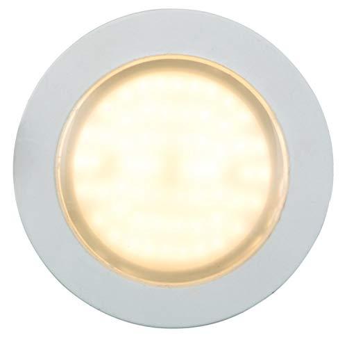 Heitronic LED Einbaustrahler, 6W, warmweiß, mit seitlichem Lichtstreifen EEK: A+