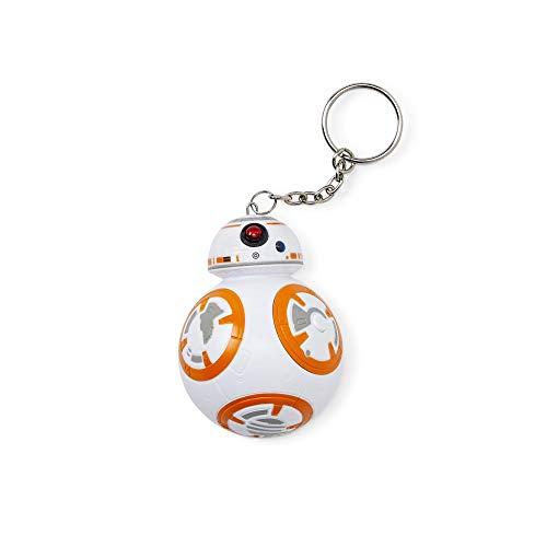 Star Wars 882041031416 Llavero 3D Sonido BB-8 Figura