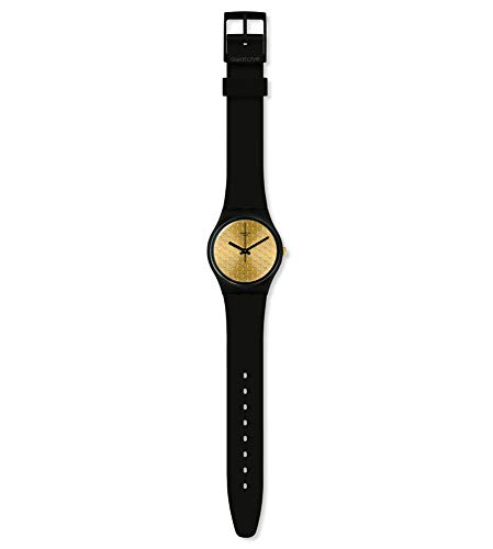 Swatch Reloj Analógico para Mujer de Cuarzo con Correa en Silicona GB323