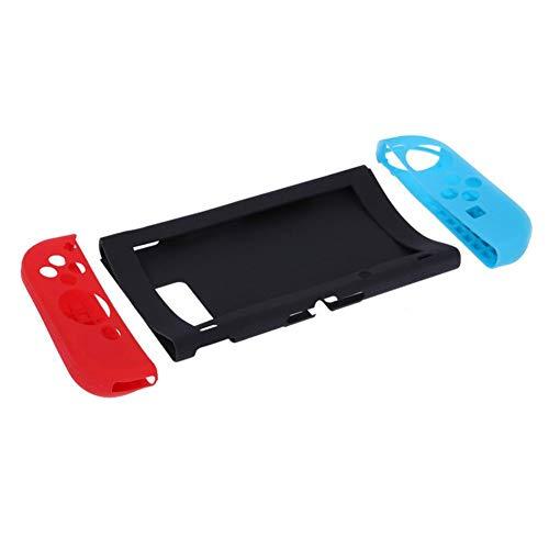 CDKJ 3pcs Housse de Protection Souple en Silicone pour poignées pour Pouce Nintendo Switch Etui en Silicone pour contrôleur Joy-NS Console de Protection Switch