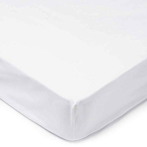 wilko Waterproof Double Mattress Protector (135 x 190cm), Easy-Fit Design Protects Against Spills and Stains, Machine Washable Mattress Protection