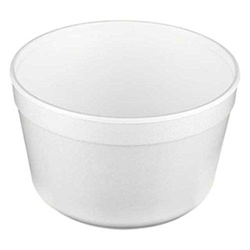 100 Stk. Thermoschale Soup-To-Go Suppenschale F16, aus EPS, 460ml, 16oz, weiß