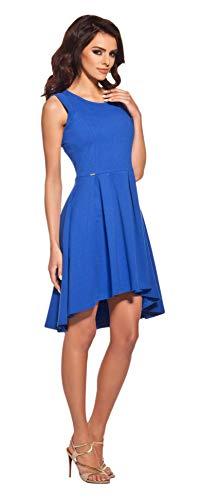 Lemoniade extravagantes Sommerkleid mit ausgefallenem Schnitt Made in EU (M (38), Modell 4 Blau)
