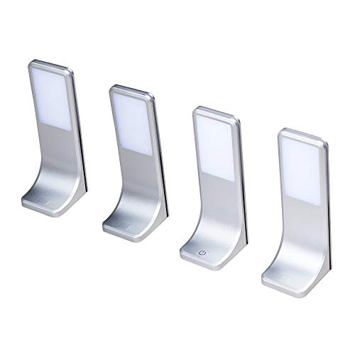 LED Unterbauleuchten Küchenleuchte Küchenleuchten Panel Unterbauleuchte Küche, Auswahl:4er SET, Lichtfarbe:neutralweiß