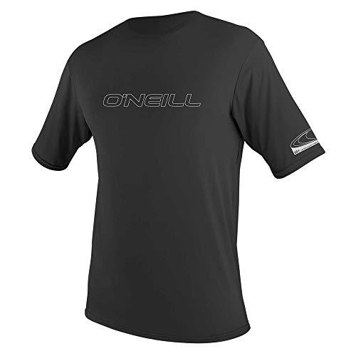 O'Neill Herren Basic Skins S/S Rash Tee Vest, Black, S