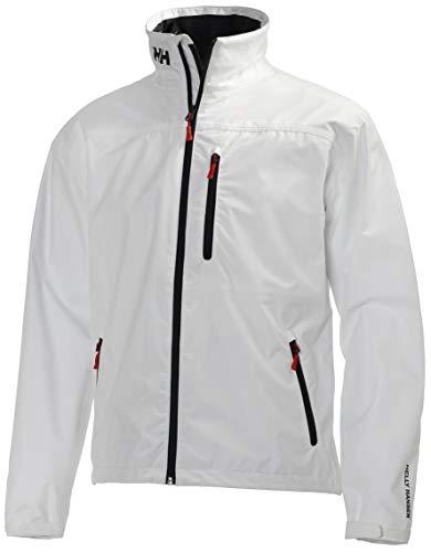 Helly Hansen HH Crew Midlayer Jacket – Veste imperméable et isolante pour homme , Blanc (Bright White),M