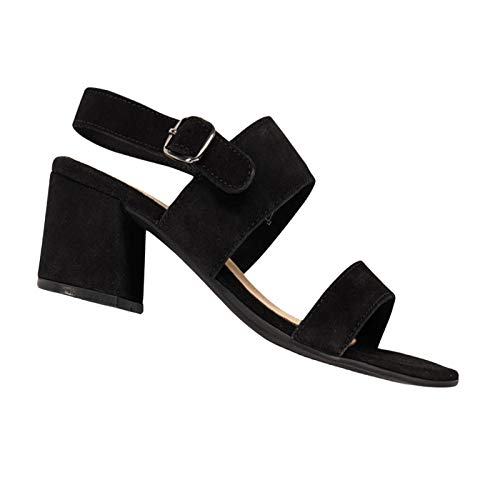 Sandalen Mule Sandaletten Damenschuhe Schuhe 37-40 schwarz, Größe: EUR 39