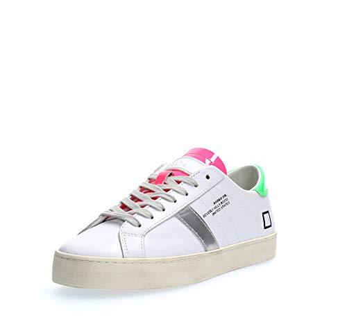 D.a.t.e. Calf. Sneakers Damen Weiß 38