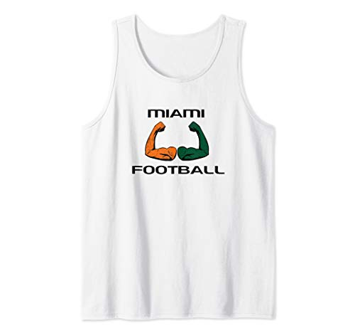 Miami Sports Fan Cool College Football Game Day Gifts Tank Top